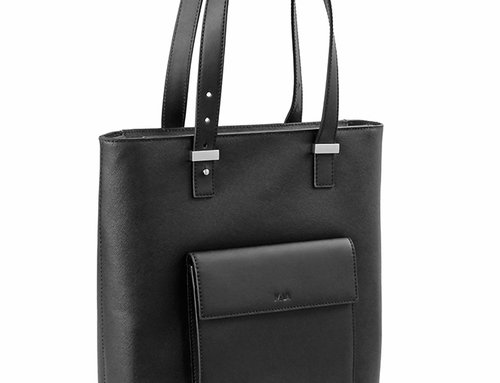 Via Durini Tote bag with adjustable handles and removable strap