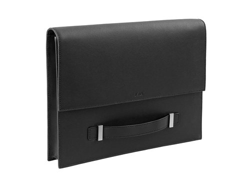 Via Durini Document holder with front handle