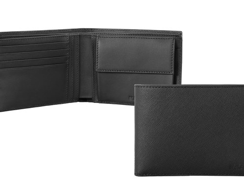Via Durini Men's wallet 4 cc with coin case