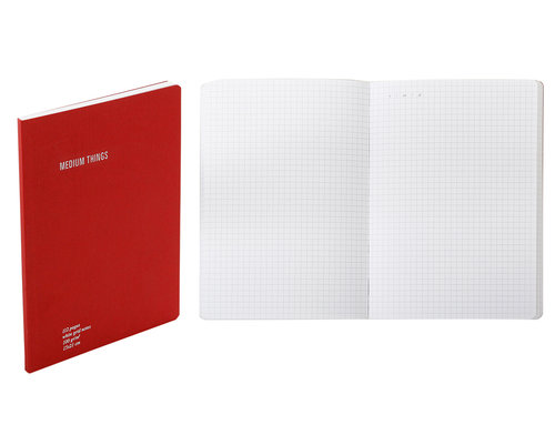 Everything Notebook grid with inside pocket A5 size