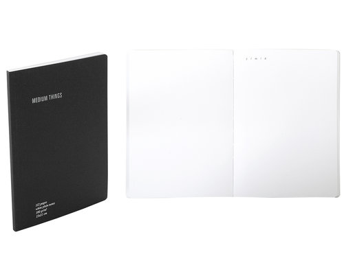 Everything Notebook plain with inside pocket A5 size