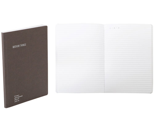 Everything Notes a righe con tasca porta documenti formato A5