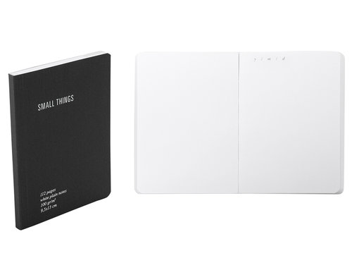 Everything Notes bianco con tasca porta documenti formato pocket