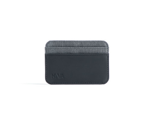 Twin Credit card holder with 4 cc slots and RFID