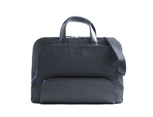 Lounge Briefcase slim 2 compartments with removable strap