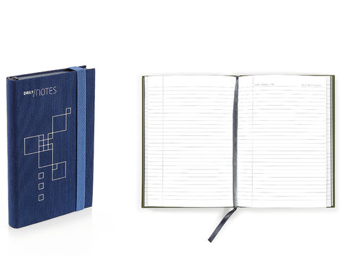Daily Notes Quaderno Di Design A Righe Formato Pocket, 9,5 X 13 Cm