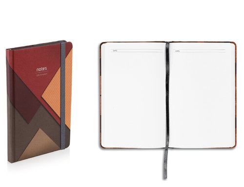 Elements Notes Design Notebook With Hard Textured Cover