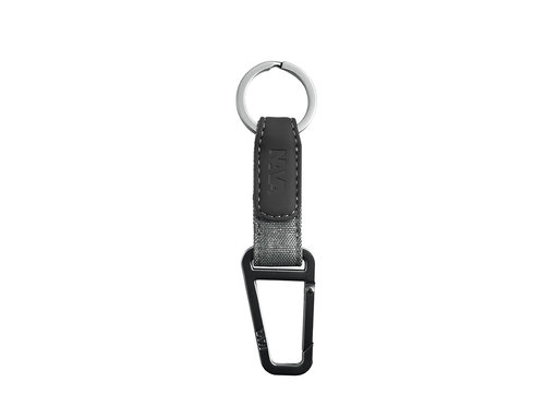 Twin Key holder with split ring and snap hook