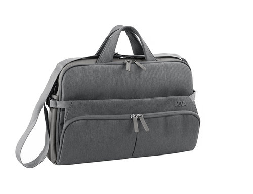 Duty Laptop briefcase 2 compartments with removable strap