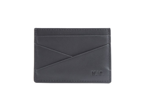 Metric Leather credit card holder with 5 cc slots
