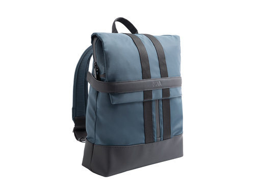 Uniform Organized laptop backpack with flap closure