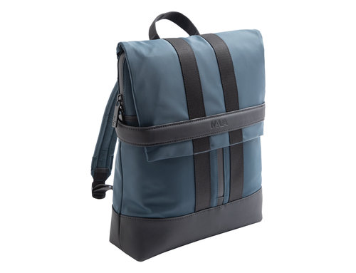 Uniform Small laptop backpack with flap closure