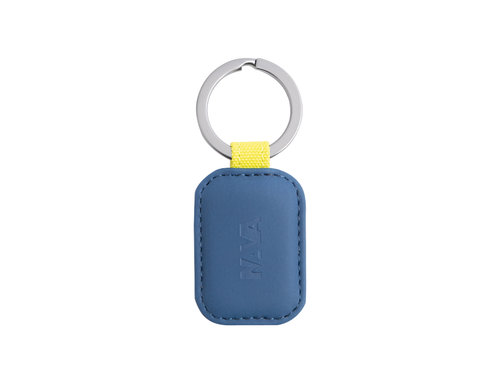 Twin Colors Round key ring