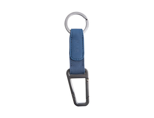 Twin Colors Key holder with ring and snap hook